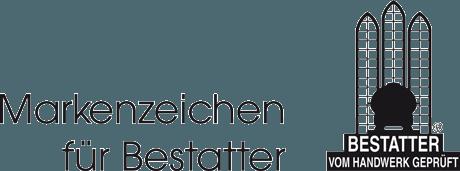 Logo Markenzeichen für Bestatter - Bestatter vom Handwerk geprüft