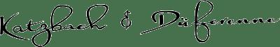 logo katzbach & düferenne bestattungsinstiut in solingen